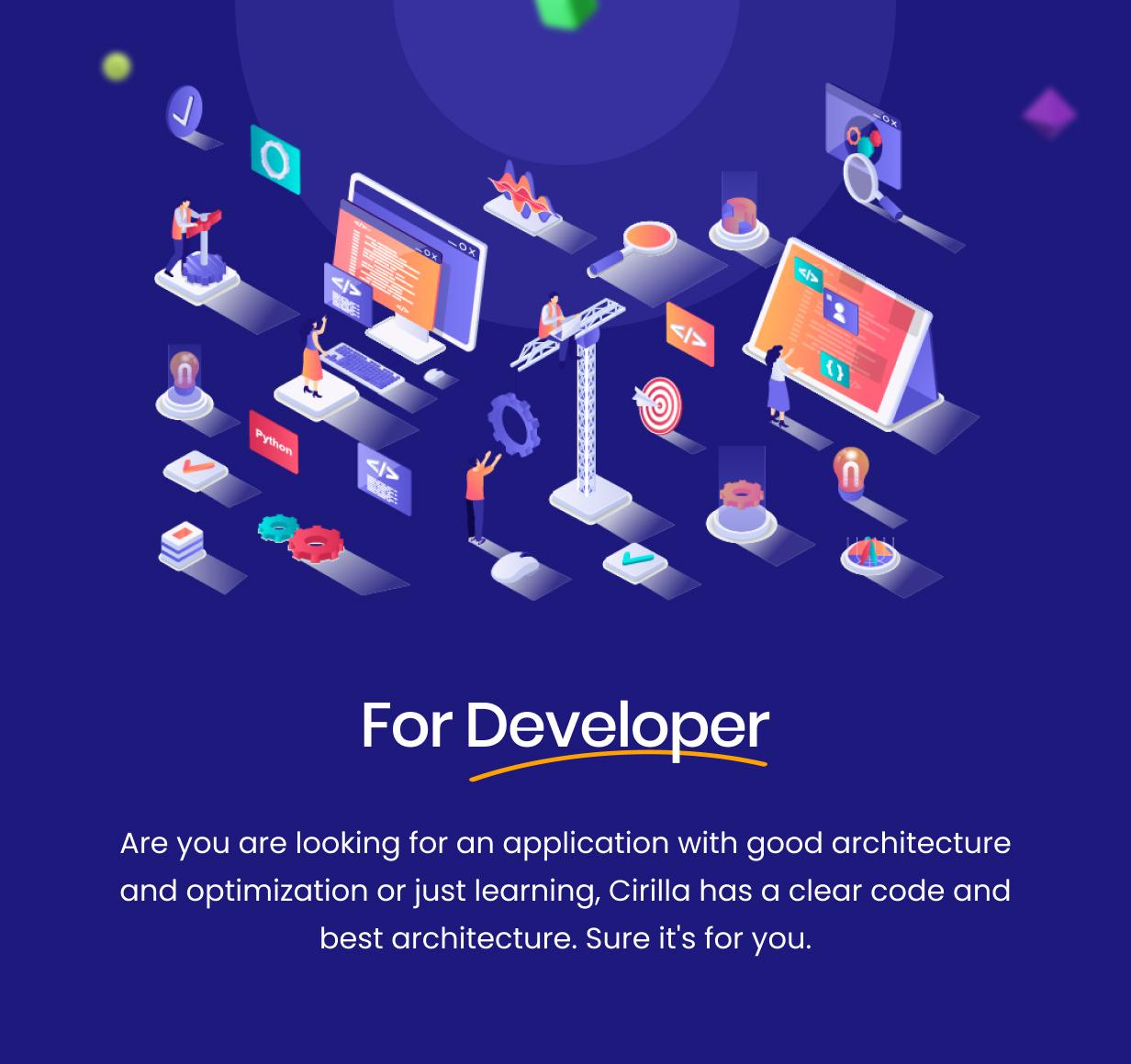 Para desenvolvedor